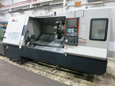 MAZAK SQT 300MY/1500 CNC TURNING CENTER WITH MILLING & Y-AXIS