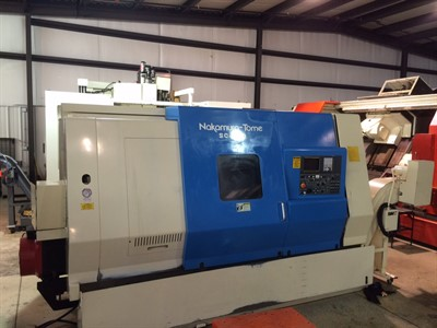 NAKAMURA SC 450 CNC UNIVERSAL TURNING CENTER