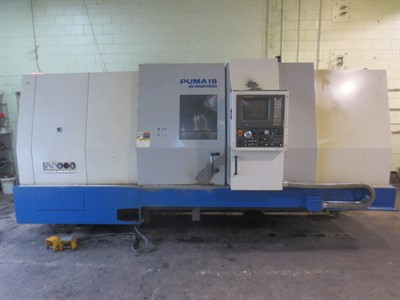 DAEWOO PUMA 18 CNC UNIVERSAL TURNING CENTER