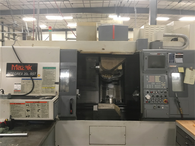 MAZAK INTEGREX 200 IIIST CNC MULTI-AXES TURNING AND MILL CENTER