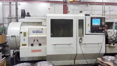 WILLIS MODEL 3280ENC 10'' HOLE CNC TURNING CENTER