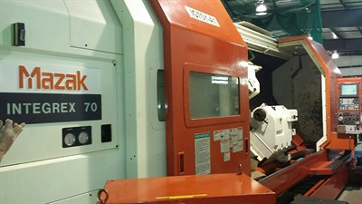 MAZAK INTEGREX 70Y/3000 LARGE BORE UNIVERSAL MULTI TASKING CENTER