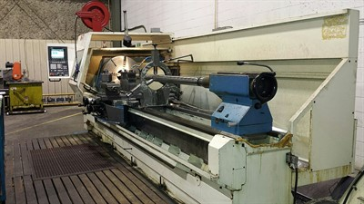 VDF BOERINGER DUS 800/3000 CNC TURNING CENTER