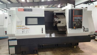 MAZAK NEXUS QTN 450IIM/1000 CNC TURNING AND MILLING CENTER