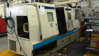 OKUMA CAPTAIN L 470M 1SC 1250 CNC TURNING CENTER W/ MILLING