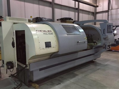 CHEVALIER FCL 2680 CNC TEACH TYPE LATHE