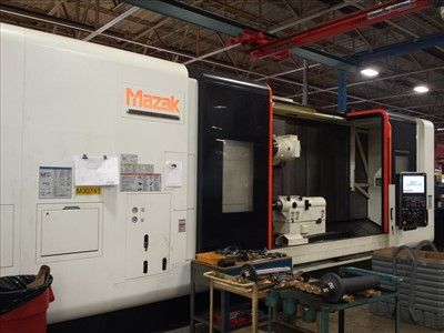 MAZAK E 670H II R CNC MULTI TASKING TURNING AND MILLING CENTER