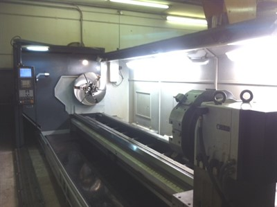 SMTCL 1244/5000 LARGE SWING FULLY ENCLOSED FLATBED LATHE