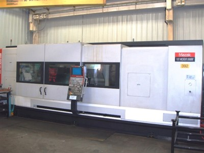 MAZAK SLANT TURN NEXUS 550M/3000 CNC TURNING AND MILLING CENTER