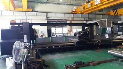 HWACHEON MEGA 130/10,000 CNC UNIVERSAL LONG BED TURNING CENTER