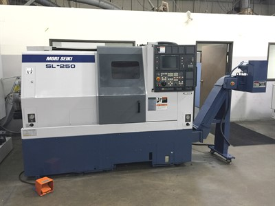 MORI SEIKI SL 250B/500 CNC UNIVERSAL TURNING CENTER