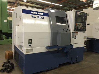 MORI SEIKI SL-200SMC CNC TURNING AND MILLING CENTER