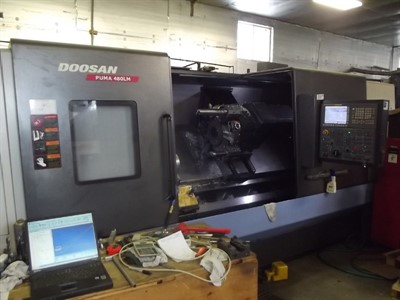 DOOSAN PUMA 480LM  CNC UNIVERSAL TURNING & MILLING  CENTER