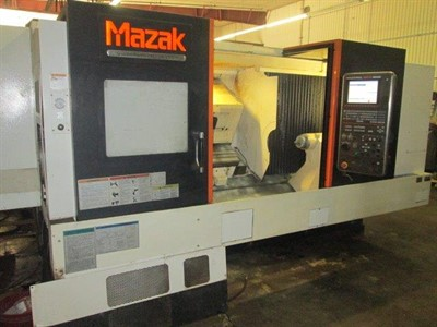 MAZAK NEXUS QTN 350II/1550  CNC UNIVERSAL TURNING CENTER