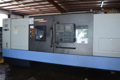 DOOSAN PUMA 480LD CNC LARGE BORE TURNING CENTER