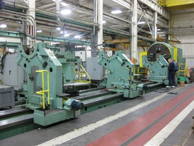 KRAMATORSK K3TC CNC HEAVY DUTY FLAT BED LATHE