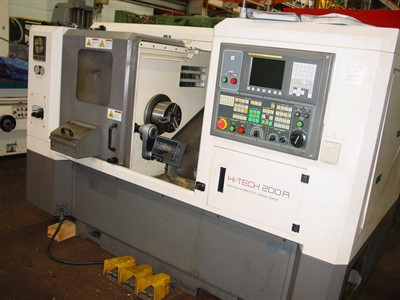 HWACHEON Hi TECH 200A CNC TURNING CENTER