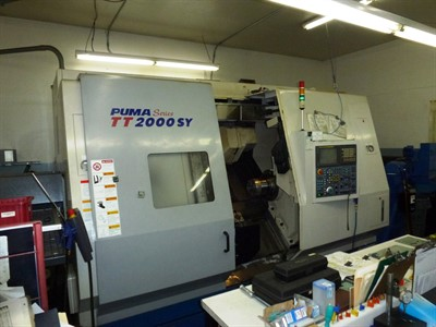 DOOSAN PUMA TT2000SY CNC MULTI-TASKING TURNING & MILLING CENTER