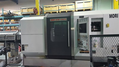 MORI SEIKI NZ 1500 T2Y2 CNC MULTI TASKING CENTER WITH BARFEED