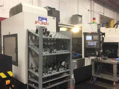 LEADWELL V50I CNC VERTICAL MACHINING CENTER
