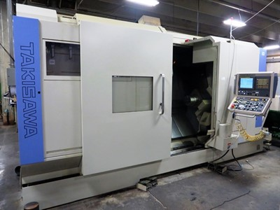 TAKISAWA TMM 250 MOD 3 CNC MULTI-TASKING TURNING CENTER