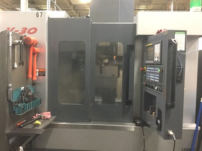 LEADWELL V30I CNC VERTICAL MACHINING CENTER