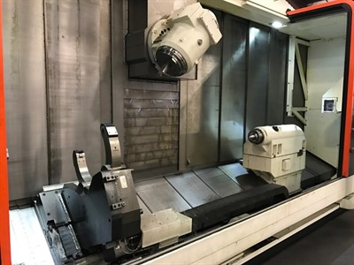 MAZAK E 670H II R / 4000 CNC MULTI TASKING TURNING AND MILLING CENTER
