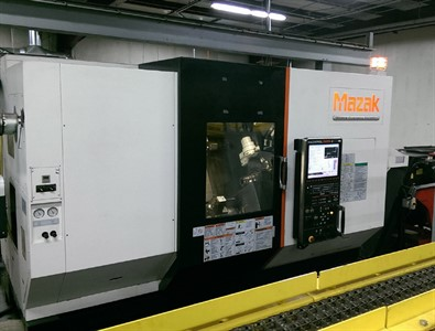 MAZAK HYPER QUADREX 200MSY CNC MULTI-TASKING TURNING & MILLING CENTER