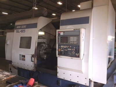 MORI SEIKI SL 65C CNC TURNING CENTER  CHUCKER