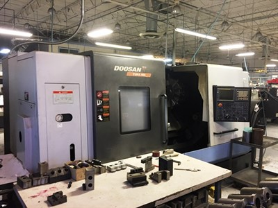 DOOSAN PUMA 480 CNC UNIVERSAL TURNING CENTER