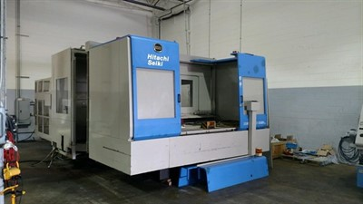 HITACHI SEIKI HG 1000 CNC HORIZONTAL MACHINING CENTER