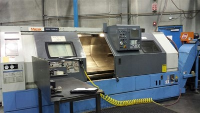 MAZAK QT 40NBB 1500 CNC UNIVERSAL TURNING CENTER
